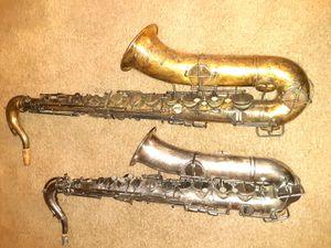 Vintage Buescher Elkhart 1914 Saxophone!! for Sale in Irving, TX