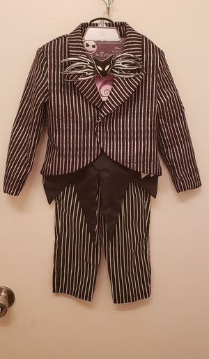 Jack Skellington Disney Costume - Toddler (3 - 4) from Nightmare Before Christmas for Sale in Whittier, CA
