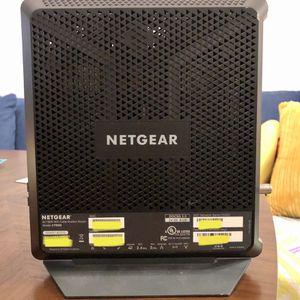 Netgear AC1900 WiFi cable modem router C7000 for Sale in Rancho Santa Margarita, CA