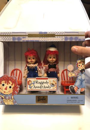 Vintage Barbie Raggedy Ann & Andy for Sale in Arlington, TX