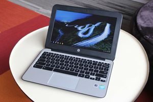 HP Chromebook 11 G4 EE 11.6 Inch Laptop , Black (Renewed) for Sale in Long Beach, CA