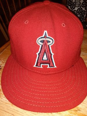 Los Angeles Angels New Era fitted hat size 7 and 5/8 for Sale in Kent, WA