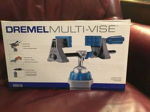 NEW Dremel Rotary Tool Multi-vise (2500-01) for Sale in Chapel Hill, NC