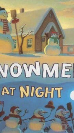 Caralyn Buehner Snowmen ⛄️ At Night for Sale in Allen,  TX