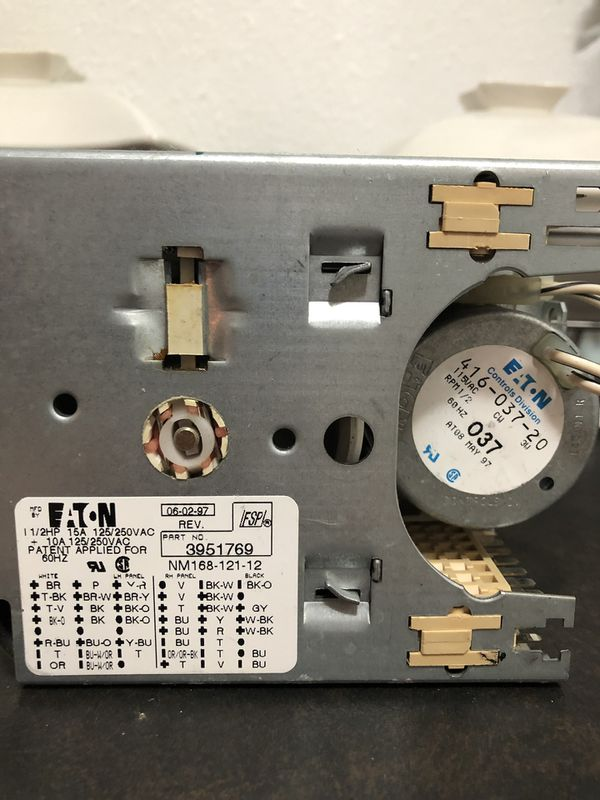 Kenmore washer timer