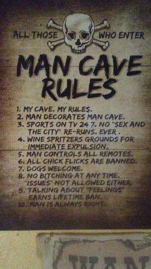 """""""MAN CAVE RULES"""" for Sale in Crestview, FL"""