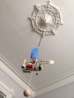 Ceiling suspended wooden toy. Handmade. From Germany. Like new in a box. for Sale in San Francisco, CA