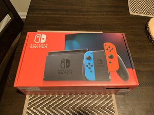 Brand new Nintendo switch neon v2 for Sale in Duluth, GA