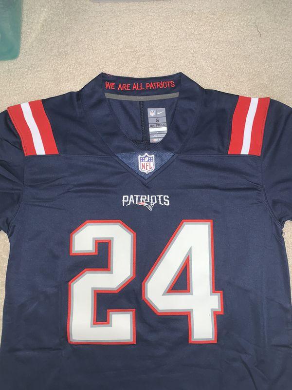 Stephon Gilmore New England Patriots Jersey
