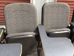 Three In One 6 sitting folding chairs for Sale in Raleigh, NC