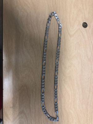 Gold chain figaro for Sale in Carson, CA