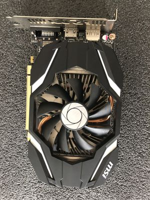 MSI GeForce GTX 1060 3GB Graphics Card for Sale in Branford, CT