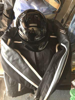 Women's motorcycle jacket and helmet for Sale in La Mesa, CA