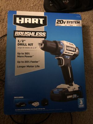 Hart Brushless Drill for Sale in Orlando, FL