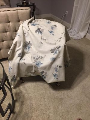 Linen curtain almost new for Sale in Paeonian Springs, VA