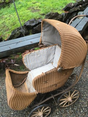 Antique Baby Carriage for Sale in Brier, WA