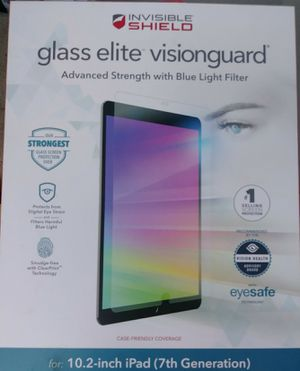 6 ZAGG 10.2 inch for 7 gen screen protectors for iPad for Sale in Raleigh, NC