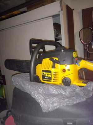 Gas powered chainsaw for Sale in St. Petersburg, FL