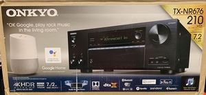 Onkyo TX-NR676 7.2 Channel Receiver for Sale in Peoria, AZ