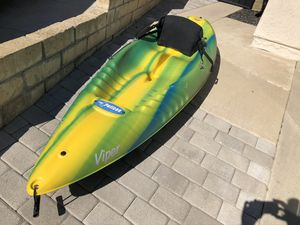 2 - 2006 Pelican Viper Single Sit-on-top kayaks w/seat backs. for Sale in Chino, CA