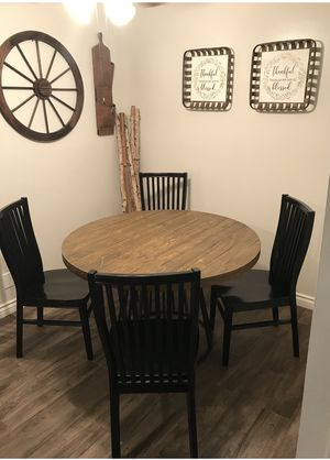 Farmhouse style table and 4 chairs for Sale in Cypress, CA