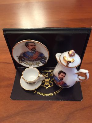 Real German porcelain miniature tea set. for Sale in Hugo, MN