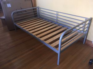 Twin daybed day bed frame with platform slats for Sale in Tucson, AZ
