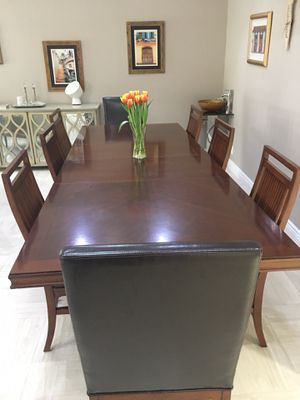 Dining set 8 chairs for Sale in New York, NY