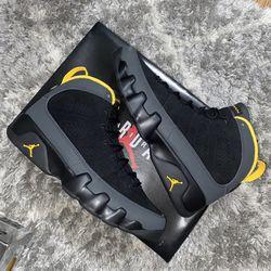 Jordan 9 Charcoal University gold Brand New Size 9 Men for Sale in Washington,  DC
