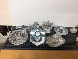 Collectible crystal glass pieces for Sale in Los Angeles, CA