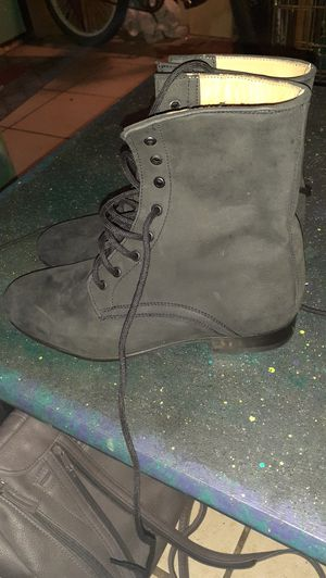 Dieppa Restrepo suede black boots for Sale in New Orleans, LA