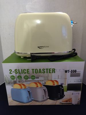 Keenstone 2 Slice Compact Toaster for Sale in Las Vegas, NV