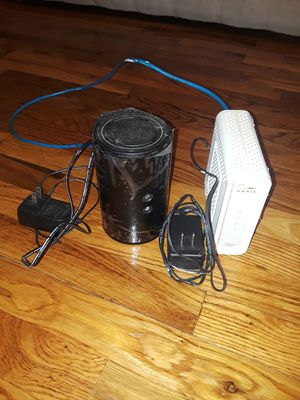 Modem and router for Sale in New York, NY