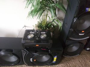 Edison professional dj system 10.000 watts for Sale in Denver, CO
