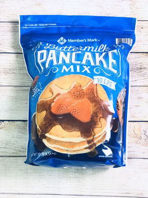 Member's Mark Buttermilk Pancake Batter 10lbs Family Size Bag for Sale in Chicago, IL