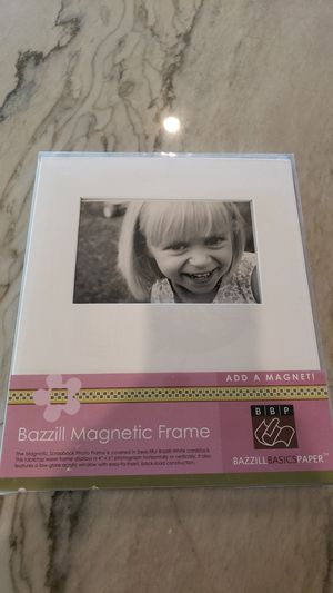 Magnectic Photo Frame by Bazzill Basics Paper for Sale in Chandler, AZ