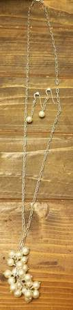 Faux Pearl or Bead Jewelry Set for Sale in Westminster, CO