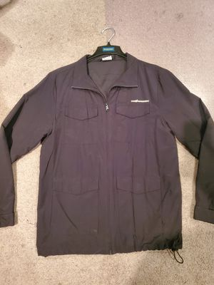 THE HUNDREDS MENS LARGE BLACK ZIP UP JACKET SKATER NOT NIKE ADIDAS CONVERSE VANS ZUMIES JACKET for Sale in Alhambra, CA