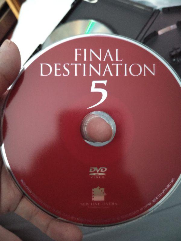 Final Destination DVD Set 1-5