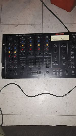 Optimus stereo sound mixer ssm-1750 for Sale in Los Angeles, CA