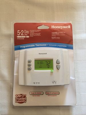 Honeywell 5-2 Day Programmable Thermostat New for Sale in Burke, VA