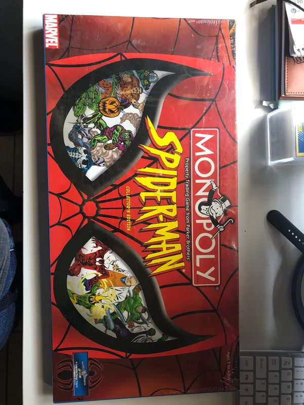Marvel Spider-man Monopoly Board game - Sealed (Never opened)