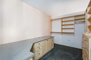 Closet Shelving and desk for Sale in San Diego, CA