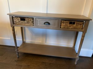 Rustic style console table - Brand New for Sale in Wake Forest, NC