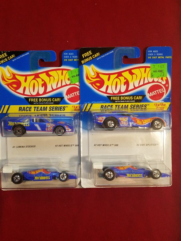 Hot Wheels Race Team Series 2 packs