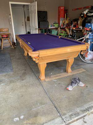 Pool table $500 obo for Sale in Stockton, CA