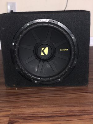 "Kicker 12"" Subwoofers 🔊 for Sale in Philadelphia, PA"