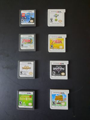 Nintendo DS/3DS Zelda, Animal Crossing, Kingdom Hearts, Harry Potter for Sale in La Mesa, CA