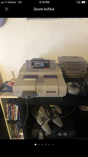 Super Nintendo for Sale in Dallas, TX