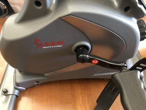 Sunny Health & Fitness Magnetic Mini Exercise Bike. for Sale in Mukilteo, WA